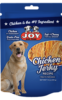 Joy Chicken Jerky For Dogs