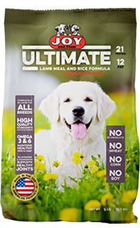 Joy Ultimate Lamb and Rice Dog Food