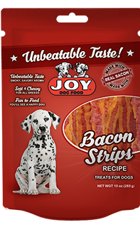 Joy Bacon Strip Dog Snacks