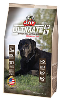 Joy Ultimate Chicken and Rice Dog Food